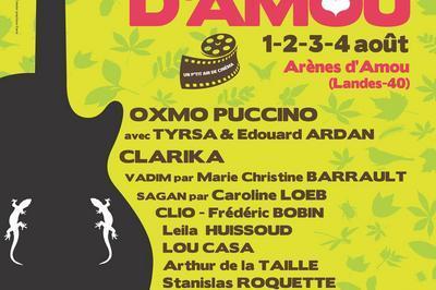 Festival Chansons & Mots d'Amou 2019