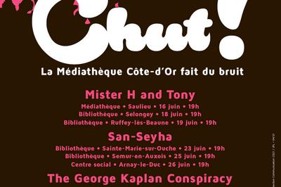 Festival Chut ! - Mister H and Tony en concert gratuit à Saulieu