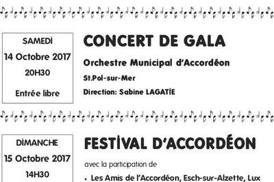 Festival d'Orchestres d'Accordéons  à Freyming Merlebach