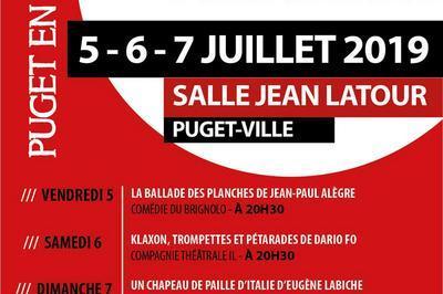 Festival De Théâtre Amateur Puget En Scène 2019