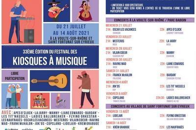 Festival Des Kiosques À Musique 2021