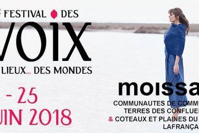 Festival des Voix, des Lieux, des Mondes 2018 à Moissac