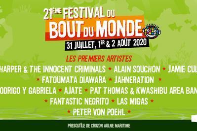 Festival Du Bout Du Monde 2020