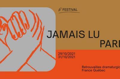 Festival Du Jamais Lu-paris#6 | L'abc Du Recommencement (cabaret Transatlantique) à Paris 20ème