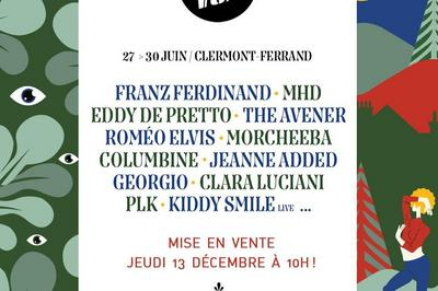 Festival Europavox 2019 - Week-End à Clermont Ferrand