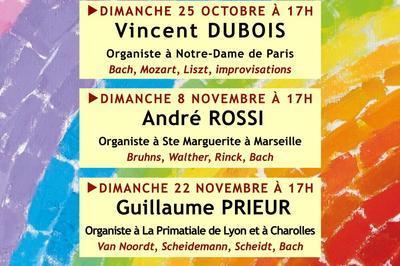 Festival L'Orgue Vivant - 17 ème édition à Marseille - Automne 2020