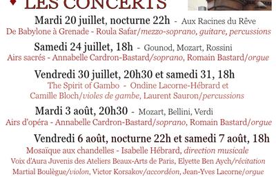 Festival Les Abbatiades de Montebourg 2021