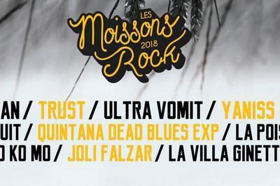 Festival Les Moissons Rock 2018