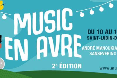 Festival Music En Avre - Pass 1 Jour à Saint Lubin des Joncherets