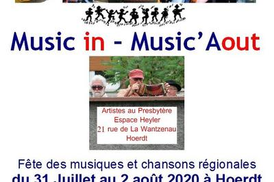 Festival Music in - Music'Aout - Culte déconcertant et concert de clôture à Hoerdt