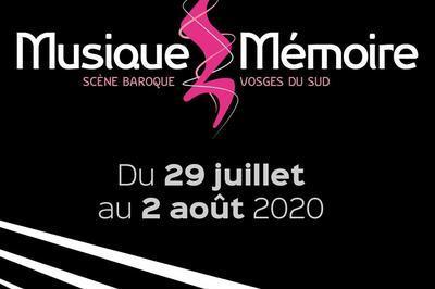 Festival Musique et Mémoire 2020