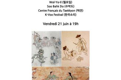 Festival P'an-korea 2019, Culture Traditionnelle Coréenne à Paris
