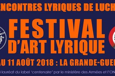 Festival Rencontres Lyriques de Luchon 2018
