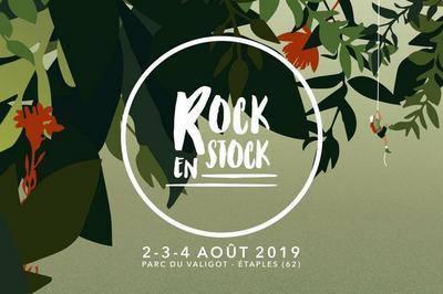 Festival Rock En Stock - Pass Samedi Camping à Etaples