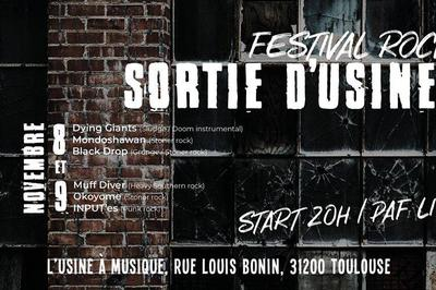 """Festival rock : """"Sortie d'Usine"""" 2018"""