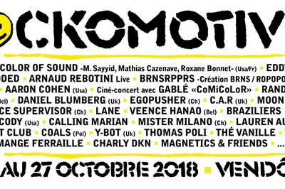 Festival Rockomotives - Pass 3 Jours à Vendome
