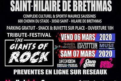 Festival The Giants Of Rock Pass 1 Jour à Saint Hilaire de Brethmas