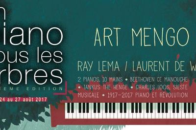 Festival Un Piano Sous Les Arbres à Lunel Viel