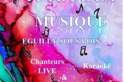 Fête de la musique - Par de la Salle des fêtes à Eguilly Sous Bois