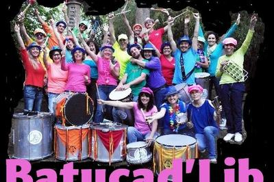 Batucad'Lib - Groupe de percussionnistes - Musique de rue (Fête de la Musique) à Nimes