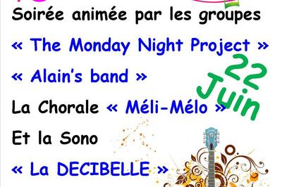 The Monday Night Project (Fête de la Musique 2018) à Piegut Pluviers