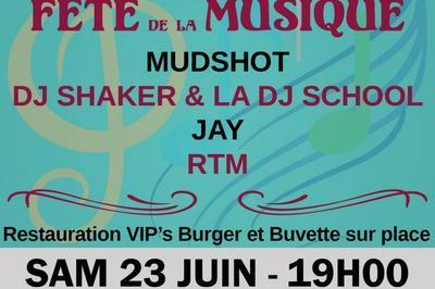 Mudshot - DJ Shaker et la DJ School à Miramont de Guyenne
