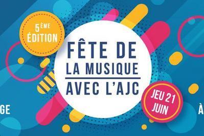 Fête de la Musique 2018 avec l'AJC à Compiegne