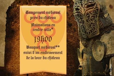 Fête médiévale à Illiers Combray