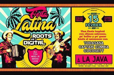 Fiesta Latina : Roots -Vs- Digital à Paris 10ème