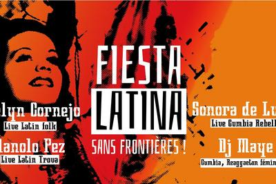 Fiesta latina sans frontières! Evelyn Cornejo à Montreuil