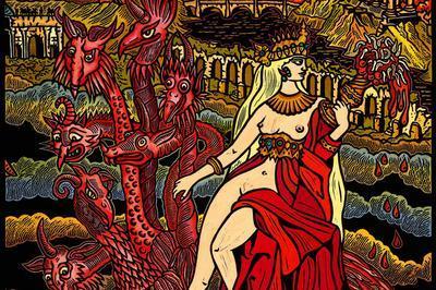 Figures De L'apocalypse, L'artiste Frédéric Voisin Revisite L'oeuvre Du Graveur Langrois Jean Duvet à Langres
