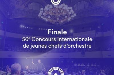 Finale • 56e Concours de jeunes chefs d'orchestre à Besancon
