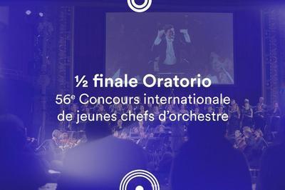 ½ finale Oratorio • 56e Concours de jeunes chefs d'orchestre à Besancon