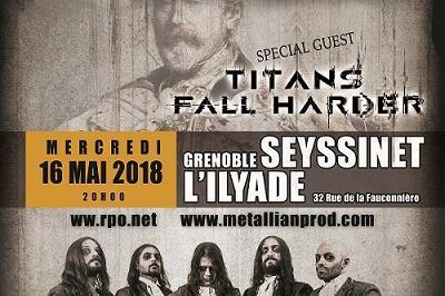 Fleshgod Apocalypse et Titans Fall Harder à Seyssinet Pariset