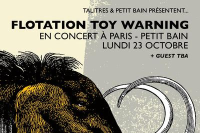 Flotation Toy Warning + Laish à Paris 13ème