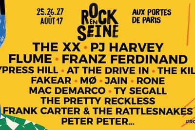 The XX, Cypress Hill, Rone à Saint Cloud