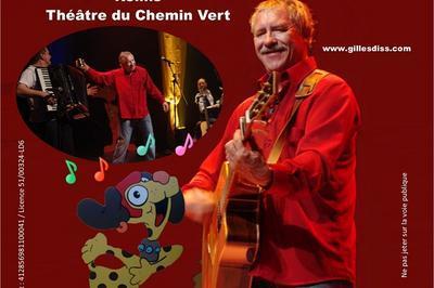 Gilles Diss en Concert à Reims