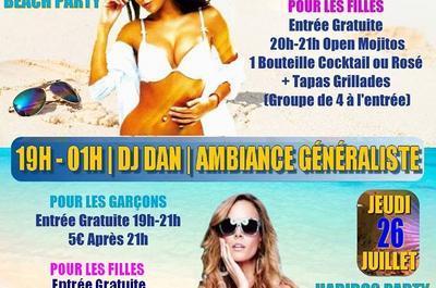 Soirées des Célibataires | Éditions Beach Party & Haribos Party | Mix Dj Dan à Montpellier
