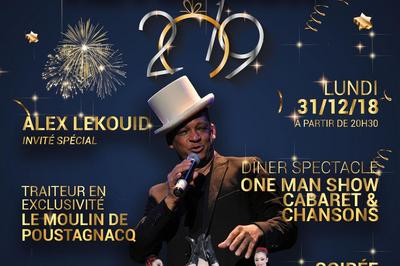 Diner & Spectacle - Réveillon 2019 à Messanges
