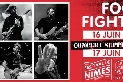 Foo Fighters à Nimes