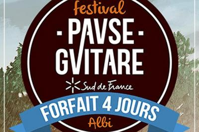 Forfait 4j Pause Guitare 2020 à Albi