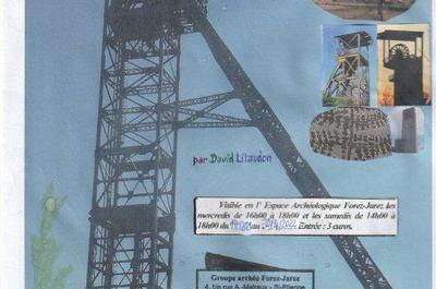 Fossiles et chevalements de mines dans la Loire et en France à Saint Etienne