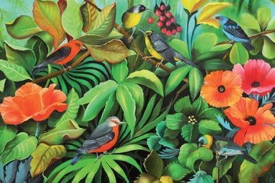 Françoise Plekan : Peintures Sur Bois à Honfleur