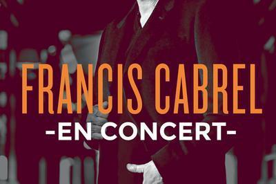 Francis Cabrel + 1ere Partie à Sollies Pont