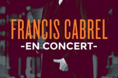 Francis Cabrel à Vienne