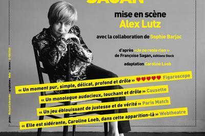 Francoise Par Sagan à Paris 14ème