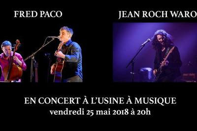 Fred Paco et Jean Roch Waro à Toulouse