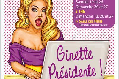 Freland. Ginette présidente.
