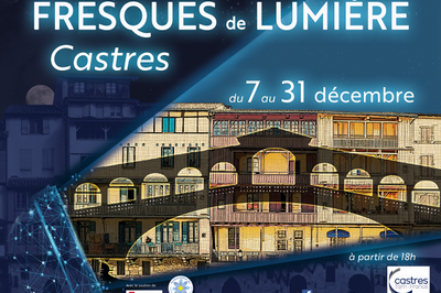 Castres - Fresques de Lumière 2018