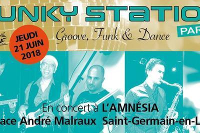 Funky Station (Fête de la Musique 2018) à Saint Germain en Laye